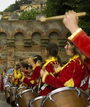 drummers beatat the seige of Canelli